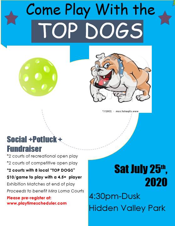 top dog event poster